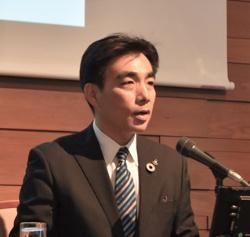 兵庫県西宮市の石井登志郎市長(写真:柏崎吉一)