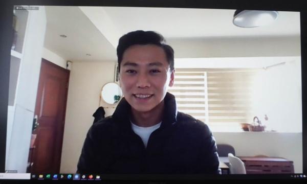アクティブ・グローバル社香港代表のスティーブン・チュウ氏。ビジネス畑出身だが、世の中の役に立つアイデアを、ビジネスで鍛えた効率性を生かして形にすることに喜びを感じているという(写真:筆者が撮影)