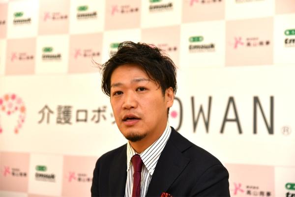 高山商事代表取締役の高山堅次氏(写真:末並 俊司、以下同)