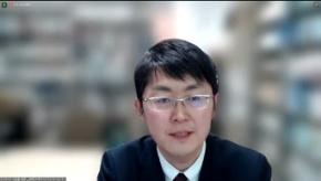 静岡大学サステナビリティセンター長 堂囿俊彦氏(シンポジウムのオンライン画面より)