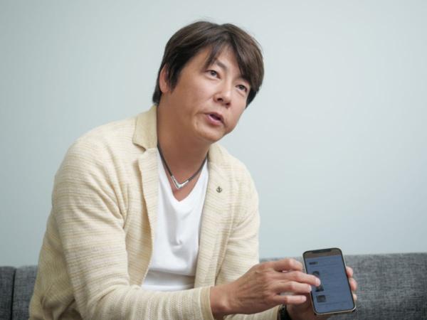 メディロム 代表取締役 CEOの江口氏