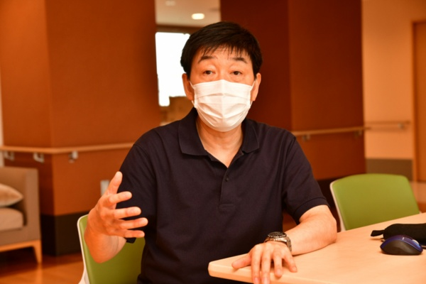 正吉福祉会理事の齊藤貴也氏