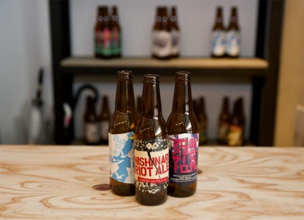 「Ravitaillement(アビタイユモン)」で提供するクラフトビール。自前の工場で生産する