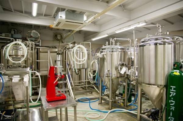 自前のビール工場