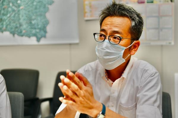 豊田市企画政策部未来都市推進課 担当長の丹羽広和さん(撮影:末並 俊司)
