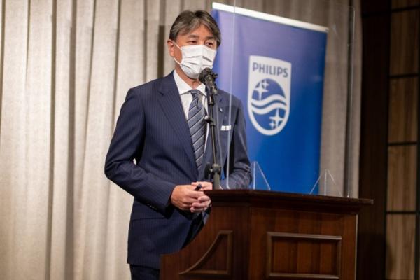 フィリップス・ジャパン 代表取締役社長 堤浩幸氏(写真:小口 正貴、以下同)