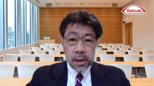 武田薬品工業 ファーマシューティカルサイエンス デピュティヘッドの新美満洋氏