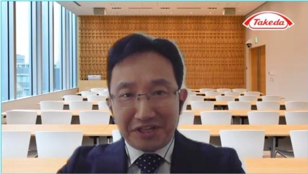 武田薬品工業 リサーチ ニューロサイエンス創薬ユニット アジアNCEプロダクション研究所長の一川隆史氏