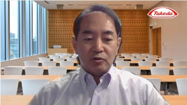 武田薬品工業 T-CiRA ディスカバリー ヘッドの梶井靖氏