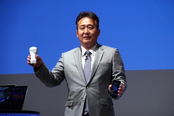 GEヘルスケア・ジャパン 代表取締役社長兼CEOの多田荘一郎氏(写真:近藤 寿成)