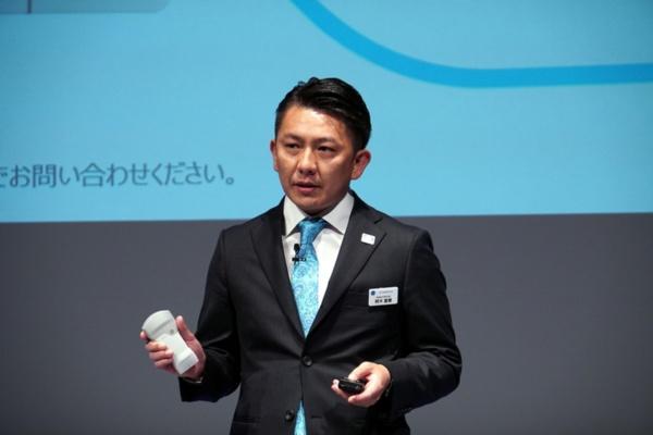 GEヘルスケア・ジャパン 超音波本部 Primary Care部 部長の阿木宣親氏
