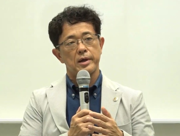 筑波大学 人間総合科学学術院 教授の久野譜也氏(写真:記者会見のオンライン画面キャプチャー)
