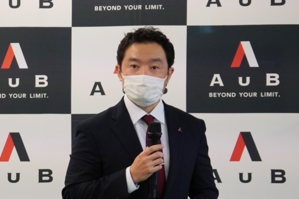 AuB 研究統括責任者の冨士川凛太郎氏