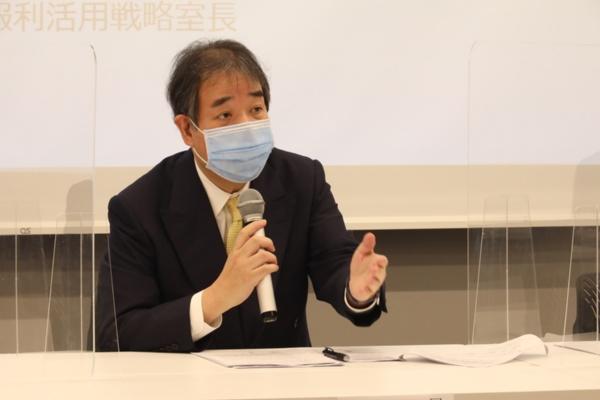 C-CAT センター長の間野博行氏(出所:国立がん研究センター、以下同)