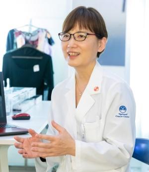 国立がん研究センター アピアランス支援センター センター長 野澤桂子氏(写真:早川 マナ、以下同)