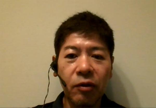 三井不動産 柏の葉街づくり推進部 事業グループ長の谷津邦成氏。取材はオンラインで実施した(写真:オンライン取材画面のキャプチャー)