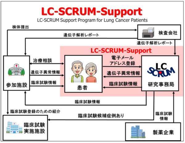 LC-SCRUM-Support の概要(出所:プレスリリース)