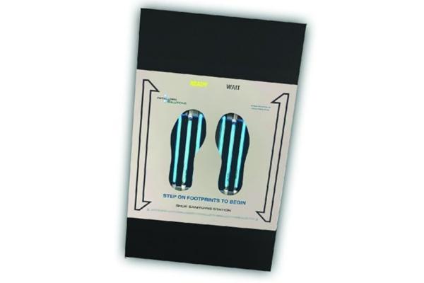Footwear Sanitizing Station(FSS)(出所:Be U.V. Well社プレスリリース)