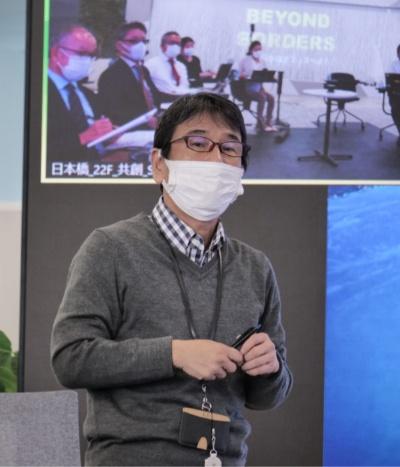 NESICマーケティング本部の吉田和友本部長