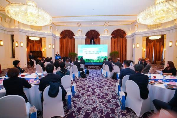 4月に上海で開催した「嘉興未来会」の様子