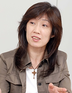 INAX営業管理部 営業情報企画室 提案情報課 係長の渡辺朋子さん