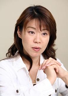 伊藤ウロコ専務取締役の、伊藤嘉奈子さん (写真:山田 愼二)
