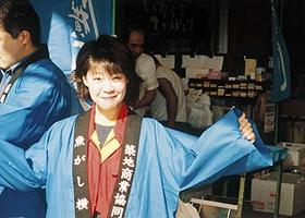 2000年、店の仕事を手伝い始めた
