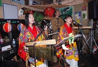 2007年9月に島唄楽園で行ったライブ、「ぱにぱに」