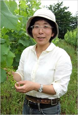タケダワイナリー代表取締役社長の岸平典子さん(写真:山田 愼二)