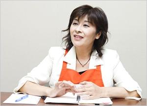 博水社代表取締役社長の田中秀子さん