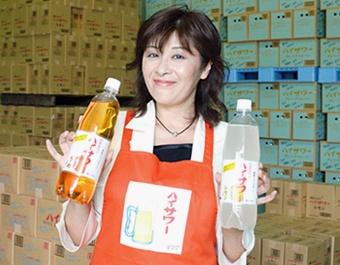 博水社代表取締役社長の田中秀子さん(写真:いずもと けい)