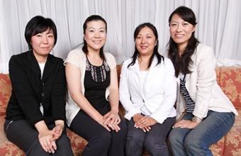 伊香保おかめ堂本舗を作った、4人の跡取り娘たち