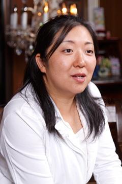 ホテル松本楼常務取締役の松本由起さん(写真:山田 愼二、以下同)