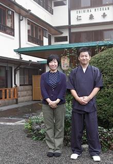 千明さんと夫の孝夫さん