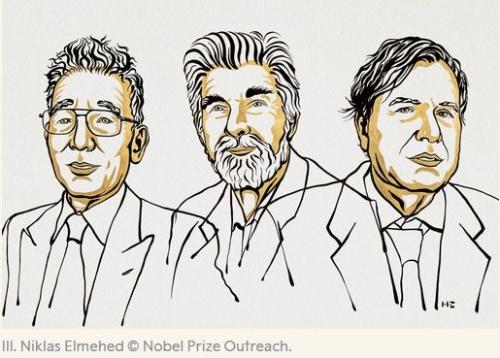 2021年のノーベル物理学賞受賞者の3人