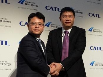 TPOモデルに特化した蓄電池システムを作るためにCATLと提携した
