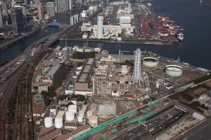 2016年4月1日、経年劣化が進み全機長期計画停止となった東京電力フュエル&パワーの大井火力発電所(出所:東京電力グループ)