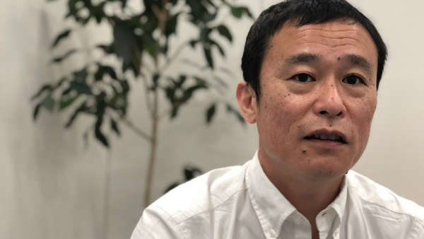 「金融業界でフィンテックの勃興を目の当たりにした」と語る、TRANDEの妹尾賢俊社長