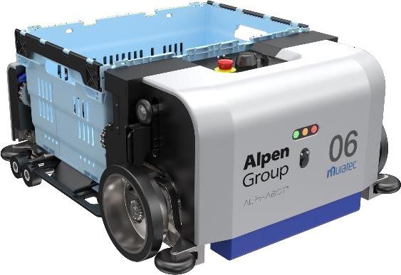 ALPHABOTのロボット台車「BOT」(出所:アルペン)