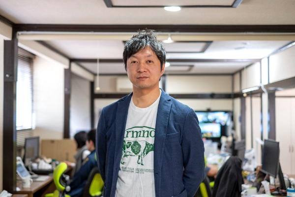 ファームノート 取締役 専務執行役員の下村瑛史氏(写真:小口正貴)