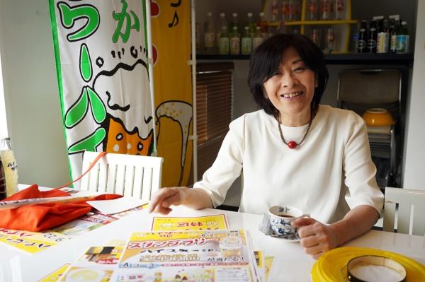 博水社の3代目社長・田中秀子さん(写真:塩見なゆ)