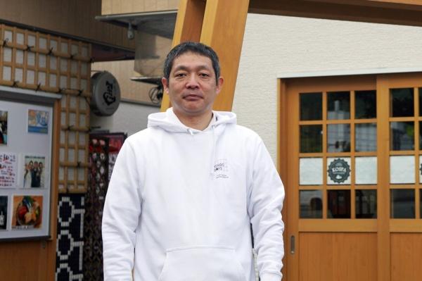 DMC天童温泉代表の山口敦史さん(写真:塩見なゆ)