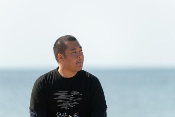 「ショッピングストア今川」の三代目店長、今川宗一郎さん(撮影:柴坂 秋廣)