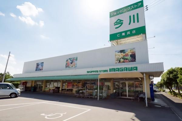 仁尾町のスーパー、「ショッピングストア今川」(写真提供:今川宗一郎氏)
