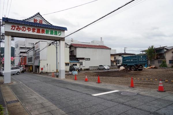 トキワ館の解体跡地(写真:守山 久子)
