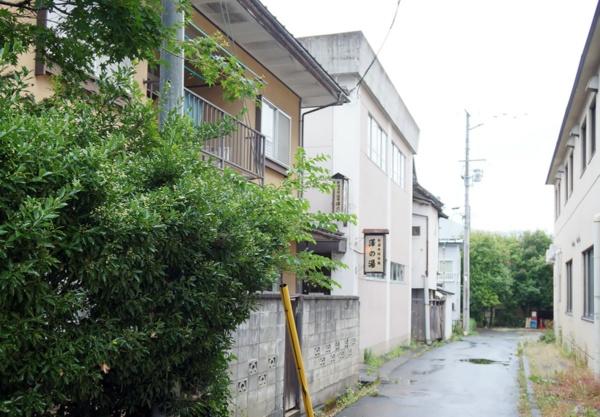 路地の奥にある共同浴場「澤の湯」(写真:守山 久子)