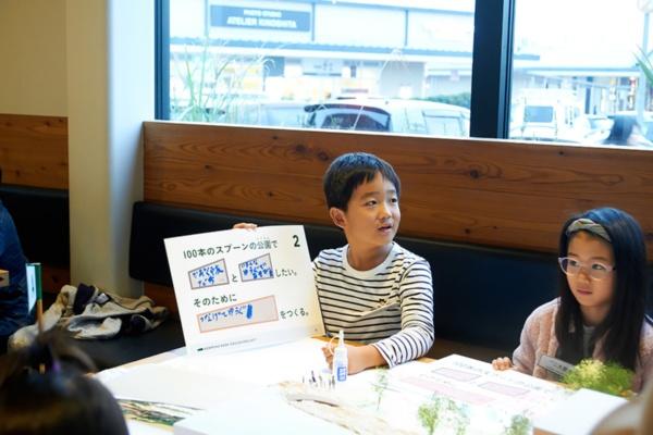 ワークショップでアイデアを出し合う子どもたち(写真提供:スマイルズ)