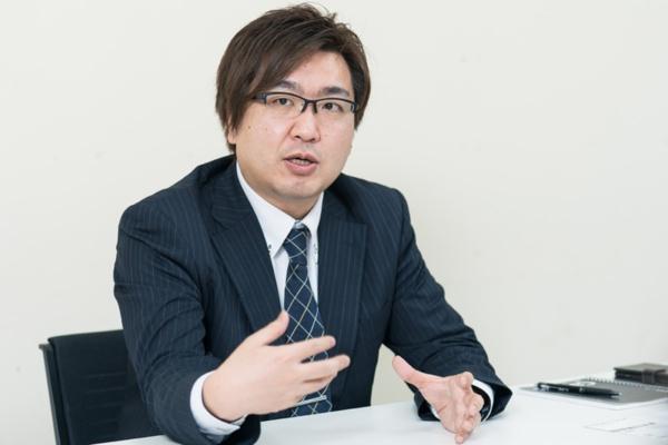 「NTTe-Sports」取締役副社長の影澤潤一氏