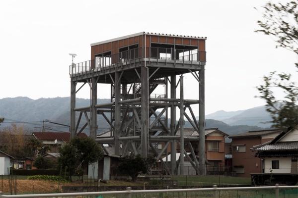 早咲地区津波避難タワー