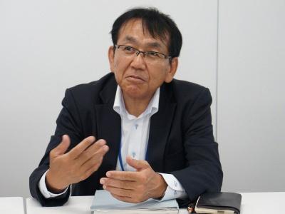 ダイダン四国支店技術部管理課担当部長の片山茂克氏(写真:省エネNext)